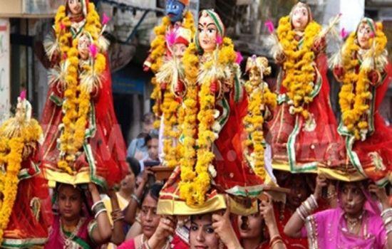 Mewar Festival in Hindi