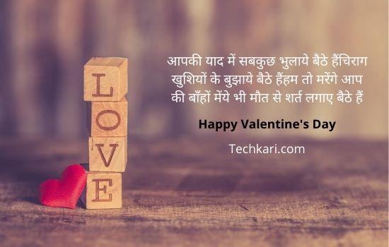 Valentine's day shayari 4