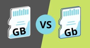 GB vs Gb meaning