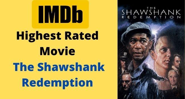 Highest Rated Movie The Shawshank Redemption