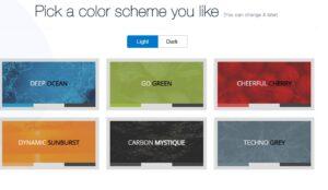 select app theme color