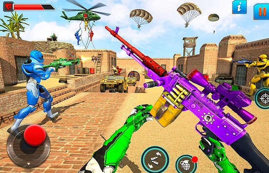 Fps Robot Shooting Games