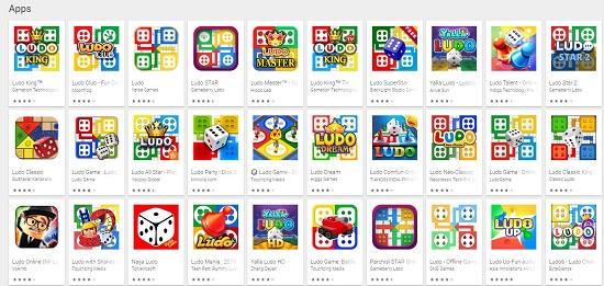 ludo game list
