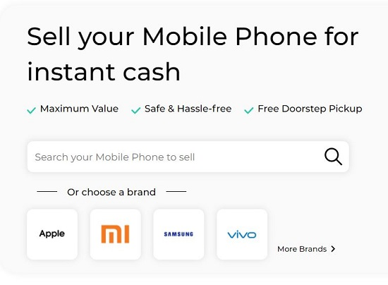 Sell old Mobile Online