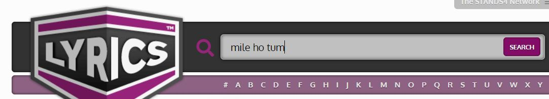 search song Lyrics